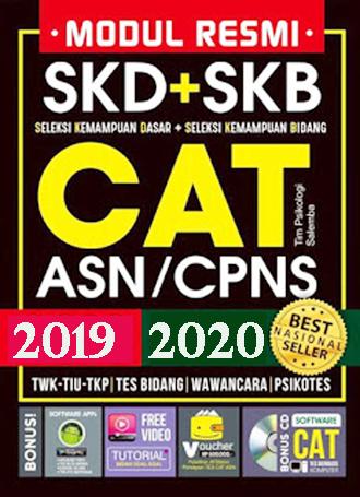 Gratis Download Ebook SKD (TWK, TIU, TKP) dan SKB ASN / CPNS 2019 Terbaru+Terlengkap