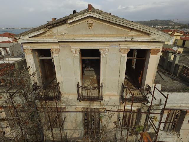"""Γιώργος Διδασκάλου: Νέα εποχή για το ιστορικό κτήριο """"Βίγγα"""" στο κέντρο του Ναυπλίου"""