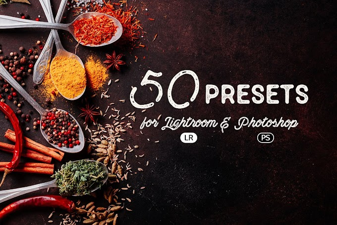 50 Beautiful Food Photography Presets. Just Pick a Style Design And You're Ready To Go
