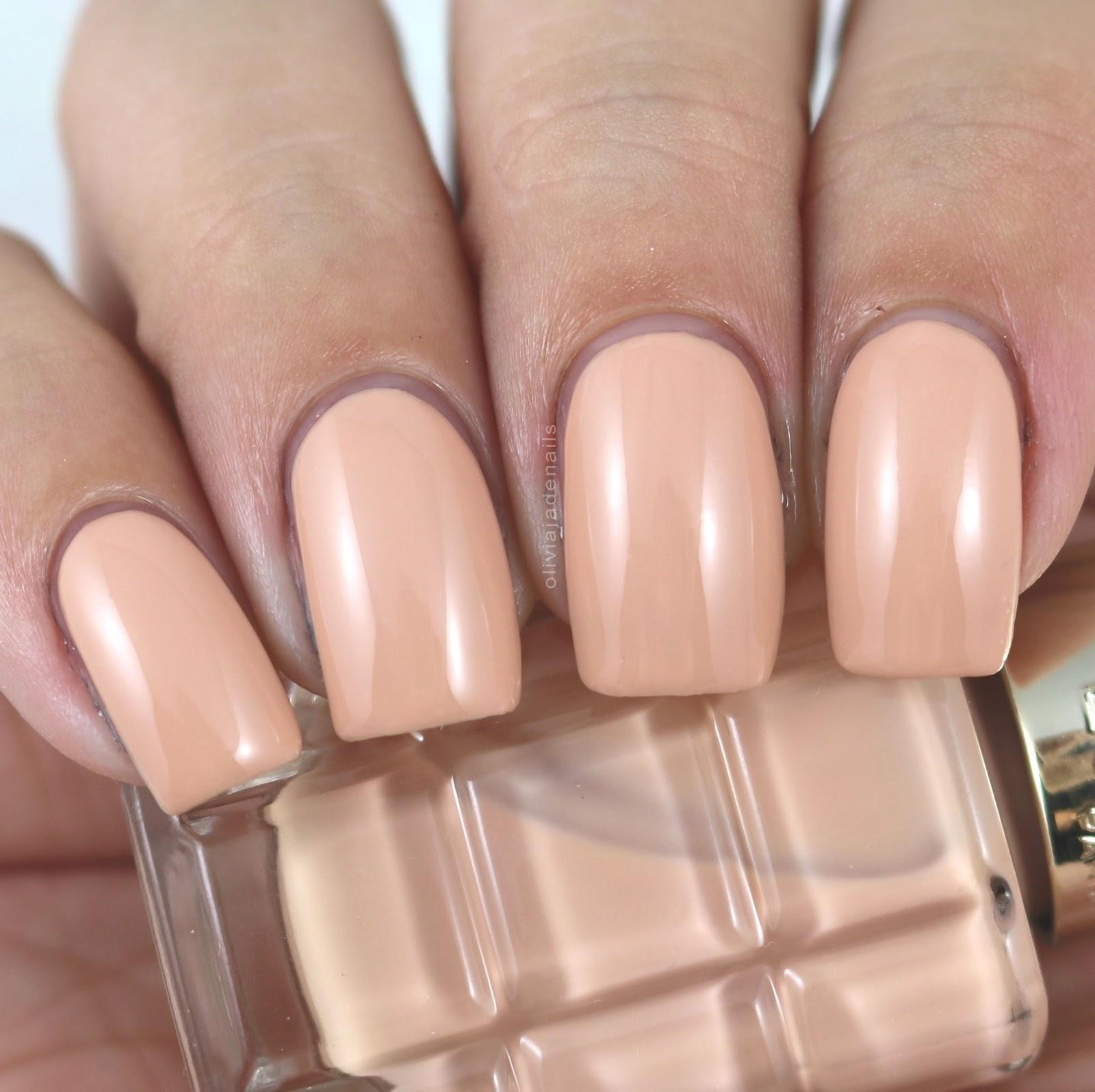 Olivia Jade Nails: L\'Oreal Paris Colour Riche Le Vernis A L\'Huile ...