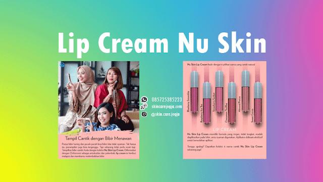 Jual Lip Cream Nu Skin Warna Lengkap