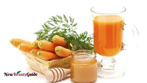 Carrot juice and Honey