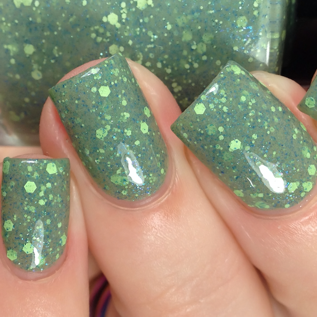 Scofflaw Nail Varnish-It Came From Outer Space