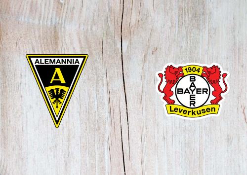 Alemannia Aachen vs Bayer Leverkusen -Highlights 10 August 2019