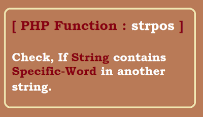 Check if string contains specific words - PHP