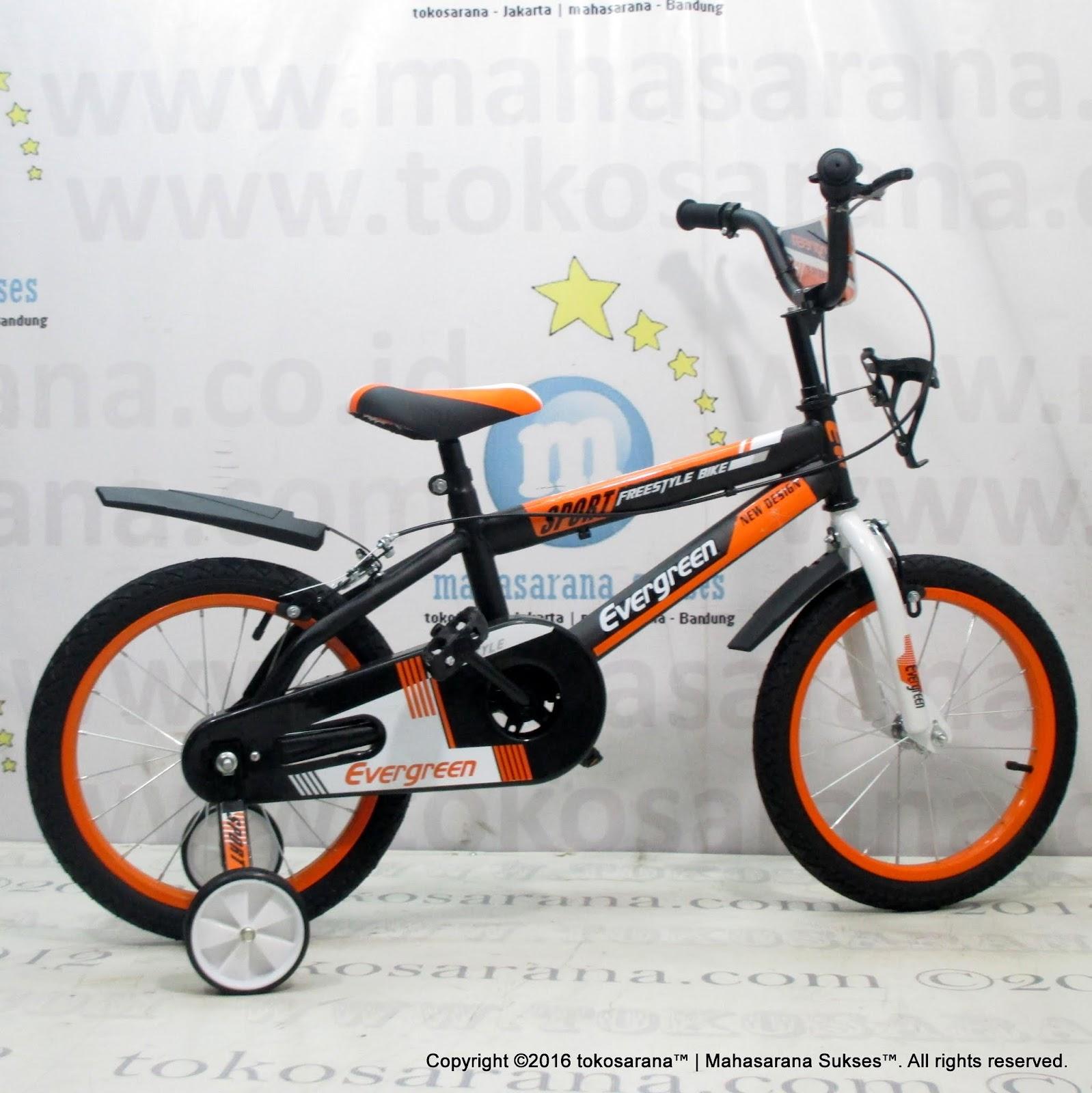 tokosarana™ Mahasarana Sukses™ Sepeda Anak Evergreen