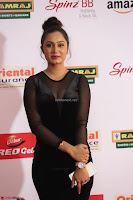Vennela in Transparent Black Skin Tight Backless Stunning Dress at Mirchi Music Awards South 2017 ~  Exclusive Celebrities Galleries 026.JPG