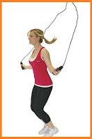 cara menambah tinggi badan dengan fitnes lompat tali