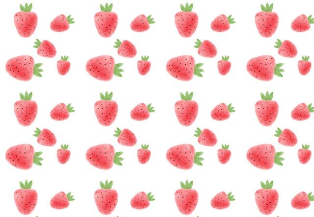 fondos, watercolor, descargar, gratis, imágenes, fresas