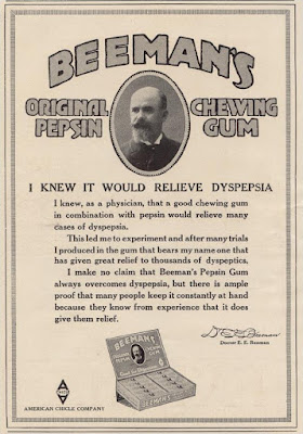Beemans Original Pepsin Chewing Gum