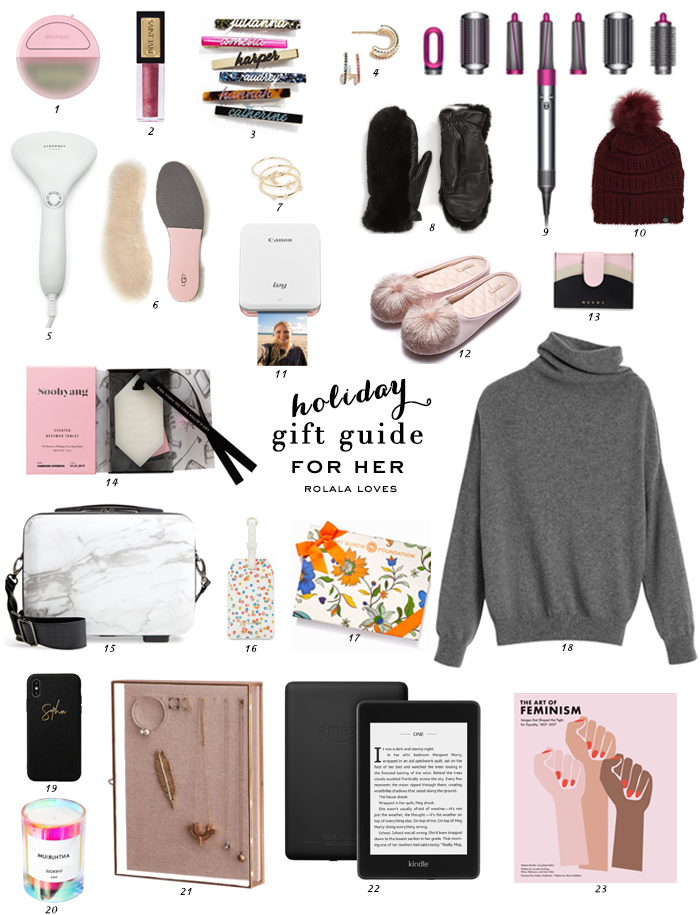 Gift Guide For Her, Gifts For Her, Gift Ideas, Holiday Gifting, Gift For Ladies