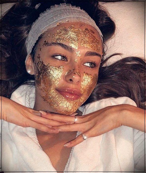 mascarilla de oro facial beneficios