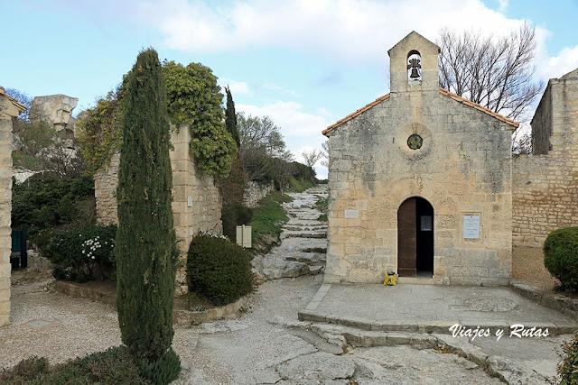 Capilla de Saint Blaise del Castillo de Les Baux de Provence