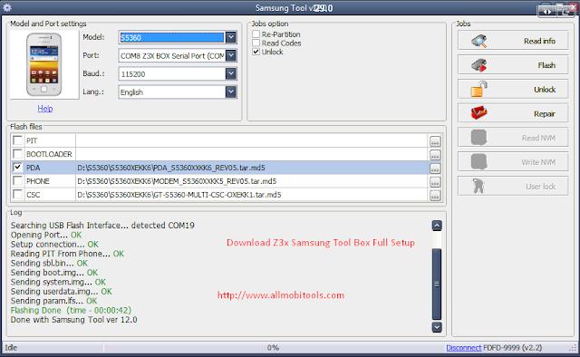 Z3x Box Samsung Tool Pro Full Setup