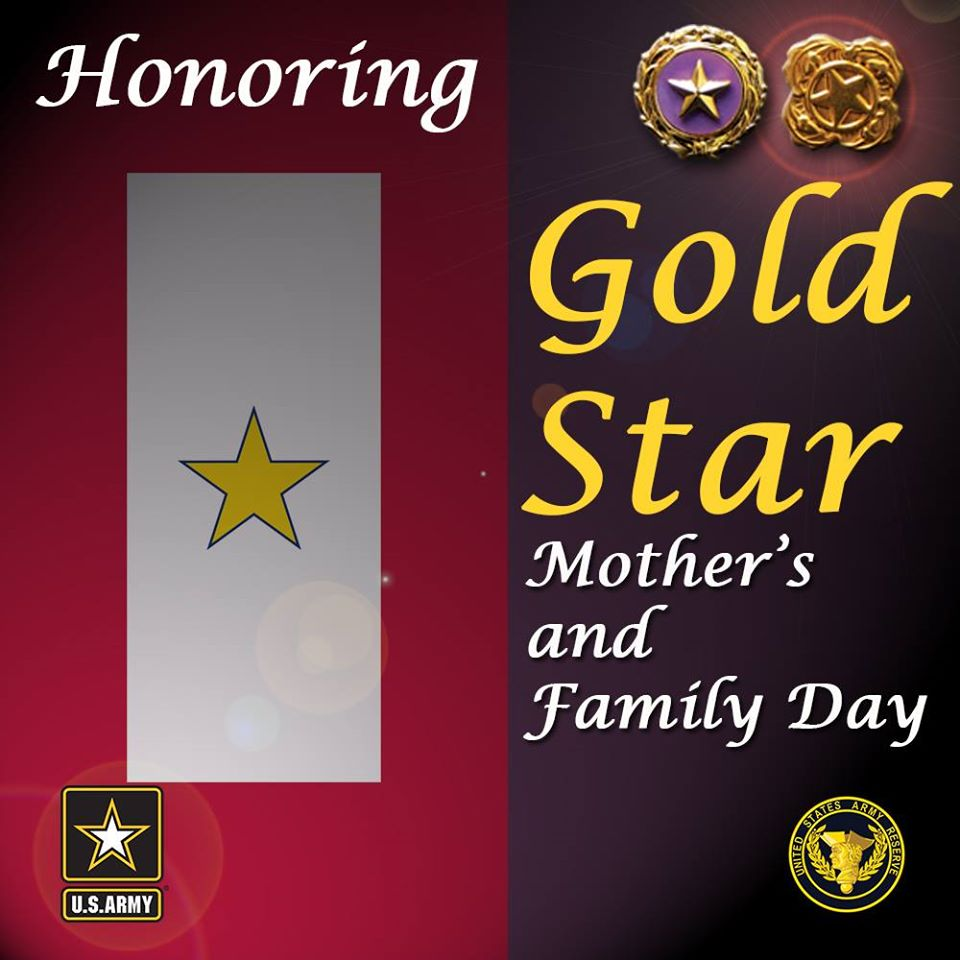 Gold Star Mother's and Family Day Wishes Photos