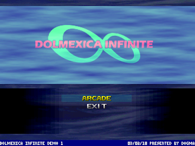 Projet Dolmexica Infinite : MUGEN sur Dreamcast Di