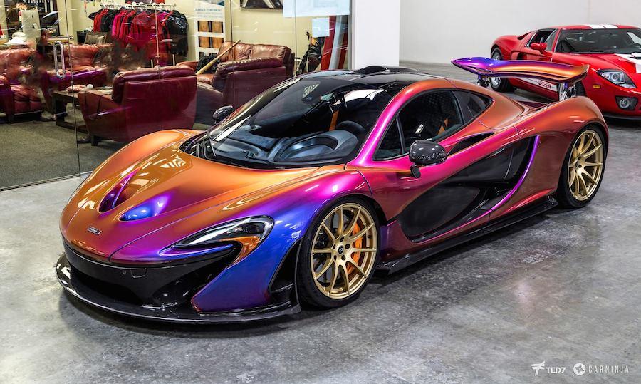 マクラーレンP1 カラー