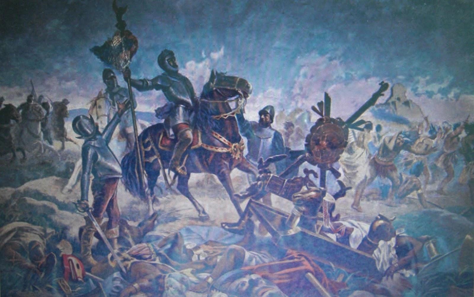 Resultado de imagen de batalla de otumba
