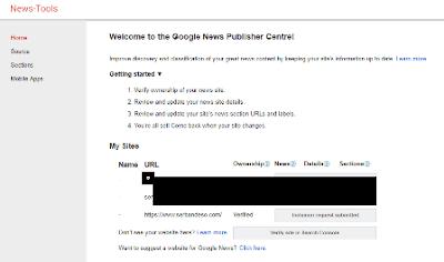 Cara Mendaftarkan Blog ke Google News dengan mudah dan lengkap