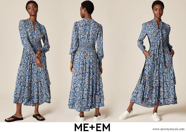 Countess of Wessex wore ME+EM Flower Field Tiered Maxi Dress