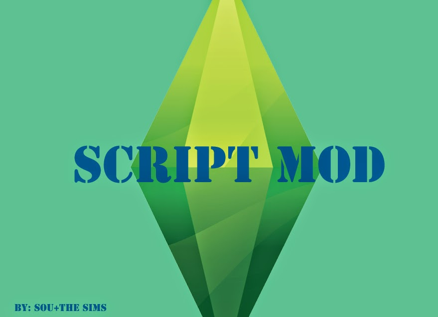 script mod como ativar op es avan adas no the sims 4 meu the sims 4. Black Bedroom Furniture Sets. Home Design Ideas