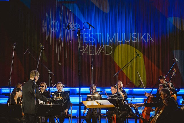 Atvars Lakstigala and Tallinn Chamber Orchestra at Estonian Music Days - photo credit Mait Juriado