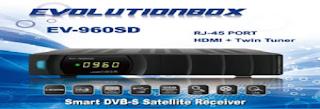 NOVA ATUALIZAÇÃO DO RECEPTOR EVOLUTIONBOX EV-960 SD V-2.25 02/10/2015