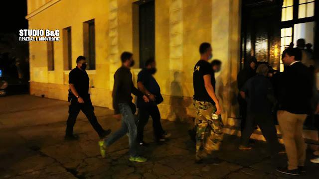 Αργολίδα: Στο εισαγγελέα Ναυπλίου οι συλληφθέντες για αρχαιοκαπηλία στην Επίδαυρο