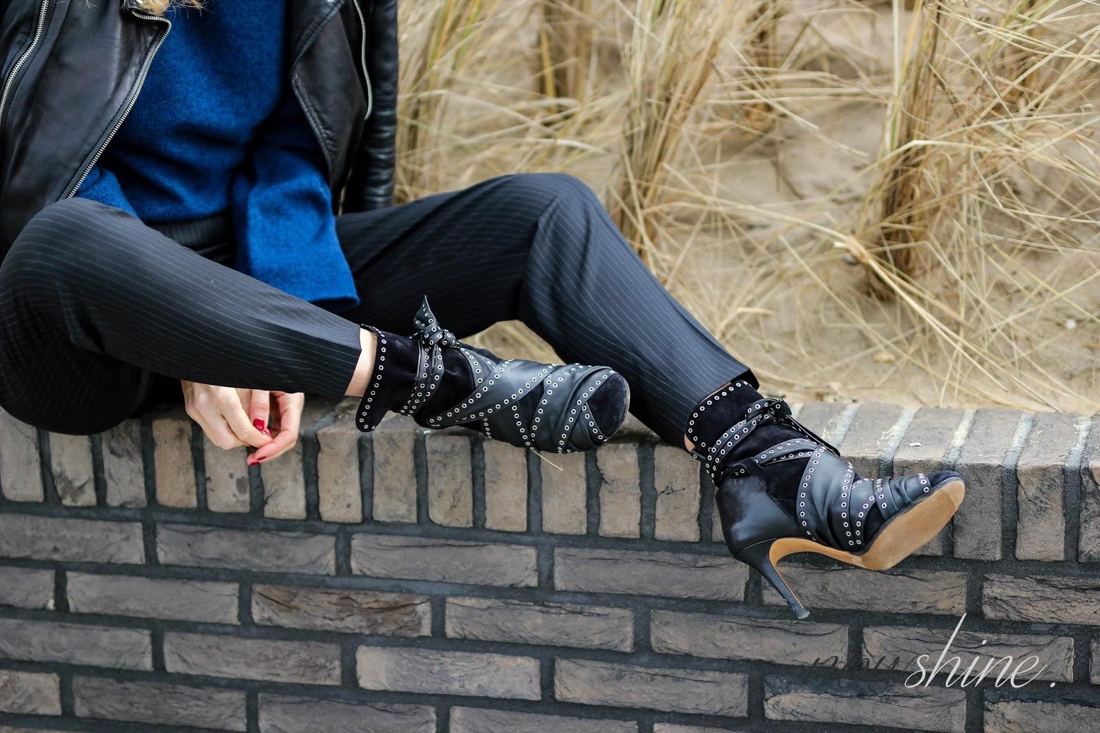 Strenesse Pullover und Hose Modeblog ü 40