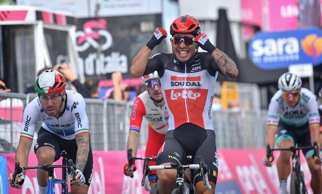 Giro d' Italia 5ο Ετάπ: Νίκησε ο Ewan της Lotto Soudal και κυνηγάει το ρεκόρ του
