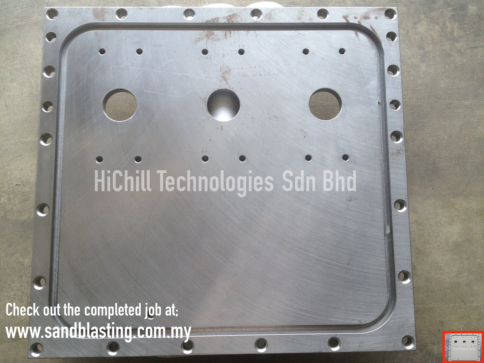 Sand blasting service in Malaysia: High Voltage Electric Panel ...