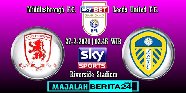 Prediksi Middlesbrough vs Leeds United