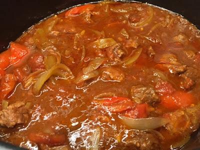 Slow Cooker Beef Goulash Ingredients