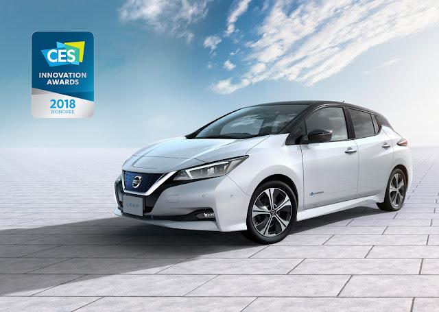 El nuevo Nissan LEAF gana su primer premio internacional