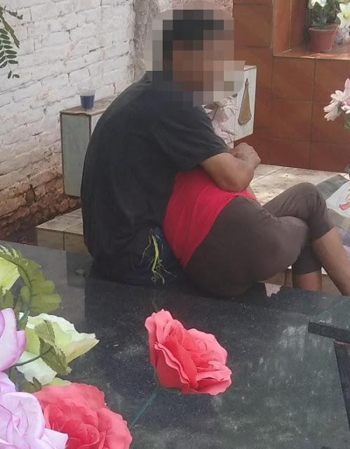 Casal é preso após ser flagrado fazendo sexo em cemitério