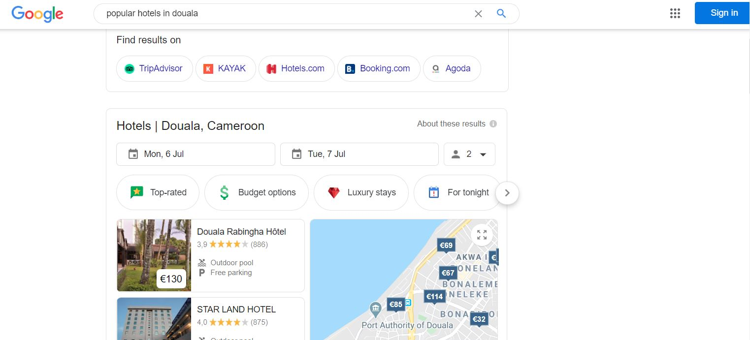 Search Engine Optimization Investment in Cameroon