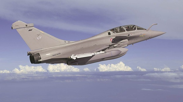 Three more Rafale jets landed in India