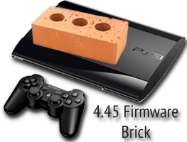 PS3 firmware 4.45 bricks the console