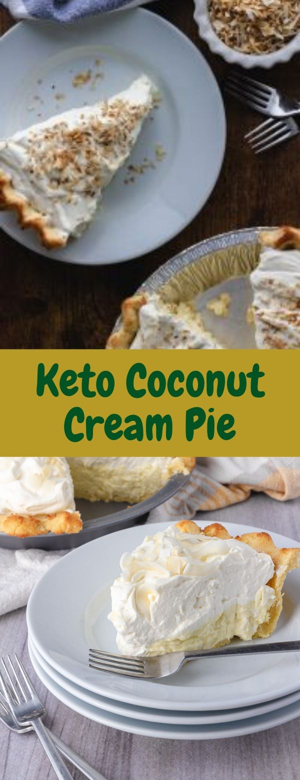 Keto Coconut Cream Pie