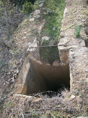 Entrada del agua al Molino de Canaleja, Campillos Sierra