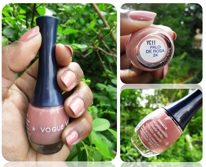 Uñas primaverales: Palo de rosa de Vogue Fantastic - Confesiones de ...