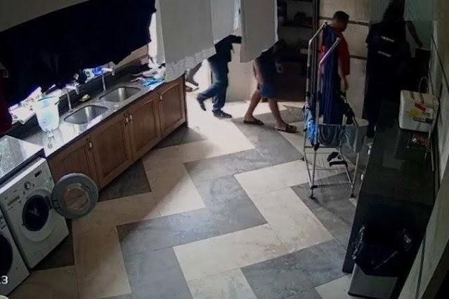 Família passa momentos de terror durante assalto em residência