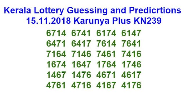 15.11.2018 Karunya Plus KN239