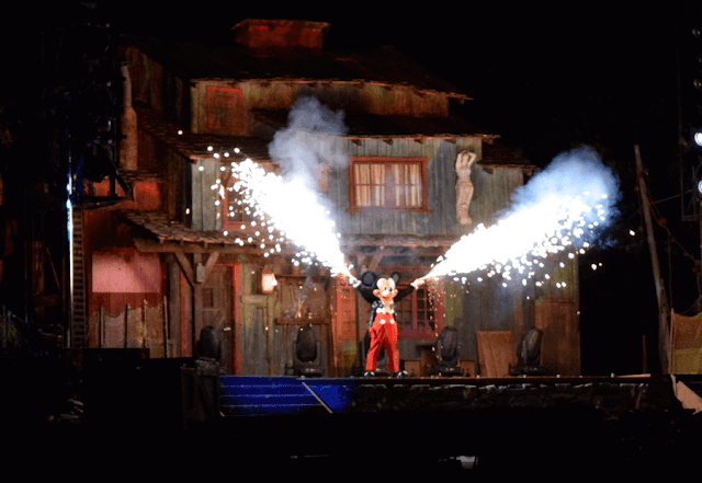 Fantasmic en Disneylandia