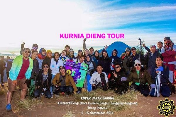 wisatawan kurnia dieng tour wonosobo