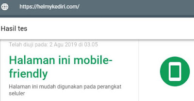 Website yang Mobile Friendly