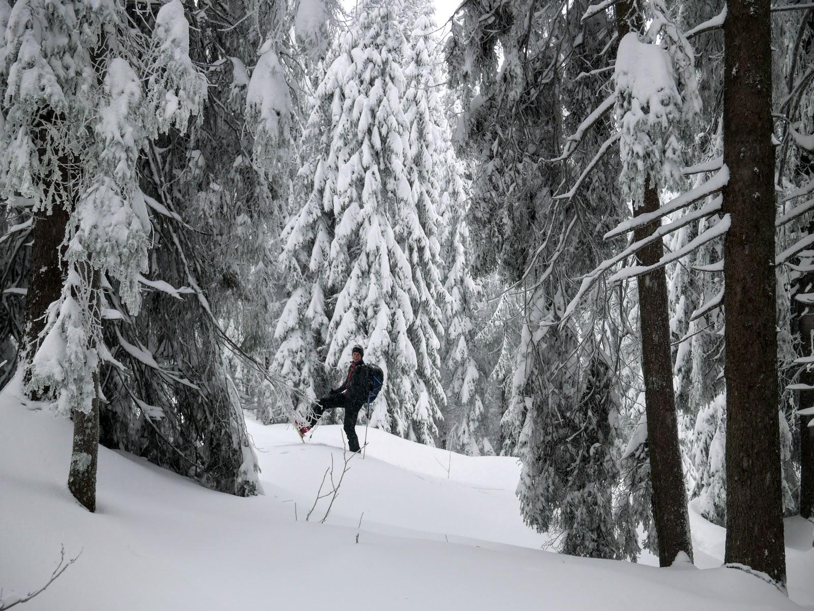 Pilsko zimą, beskid żywiecki zimą