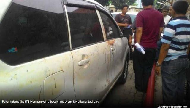 Kasus Teror Hermansyah Mirip dengan Kasus Novel Bawesdan?