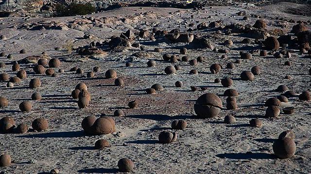 esferas san juan argentina - El misterio de las PETROESFERAS dispersas por el planeta con ENIGMÁTICO significado