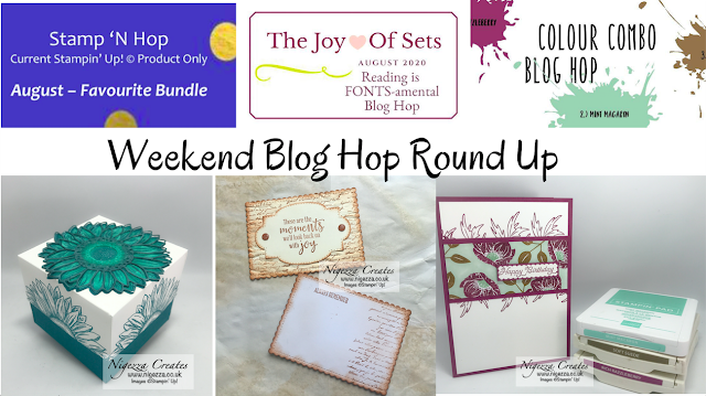 Blog Hop Round Up Monday August 10th